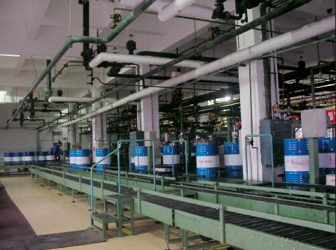 dmz-qy全自动小口桶灌装生产线